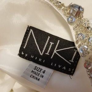 Alfred Angelo Dresses - Niki Livas Designs Satin Wedding Gown